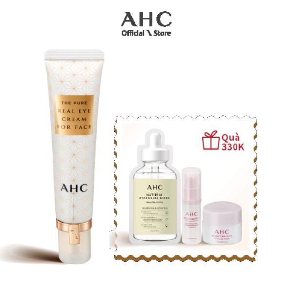 Kem Dưỡng Mắt và Mặt 2in1 AHC The Pure Real Eye Cream For Face (30ml) giá rẻ