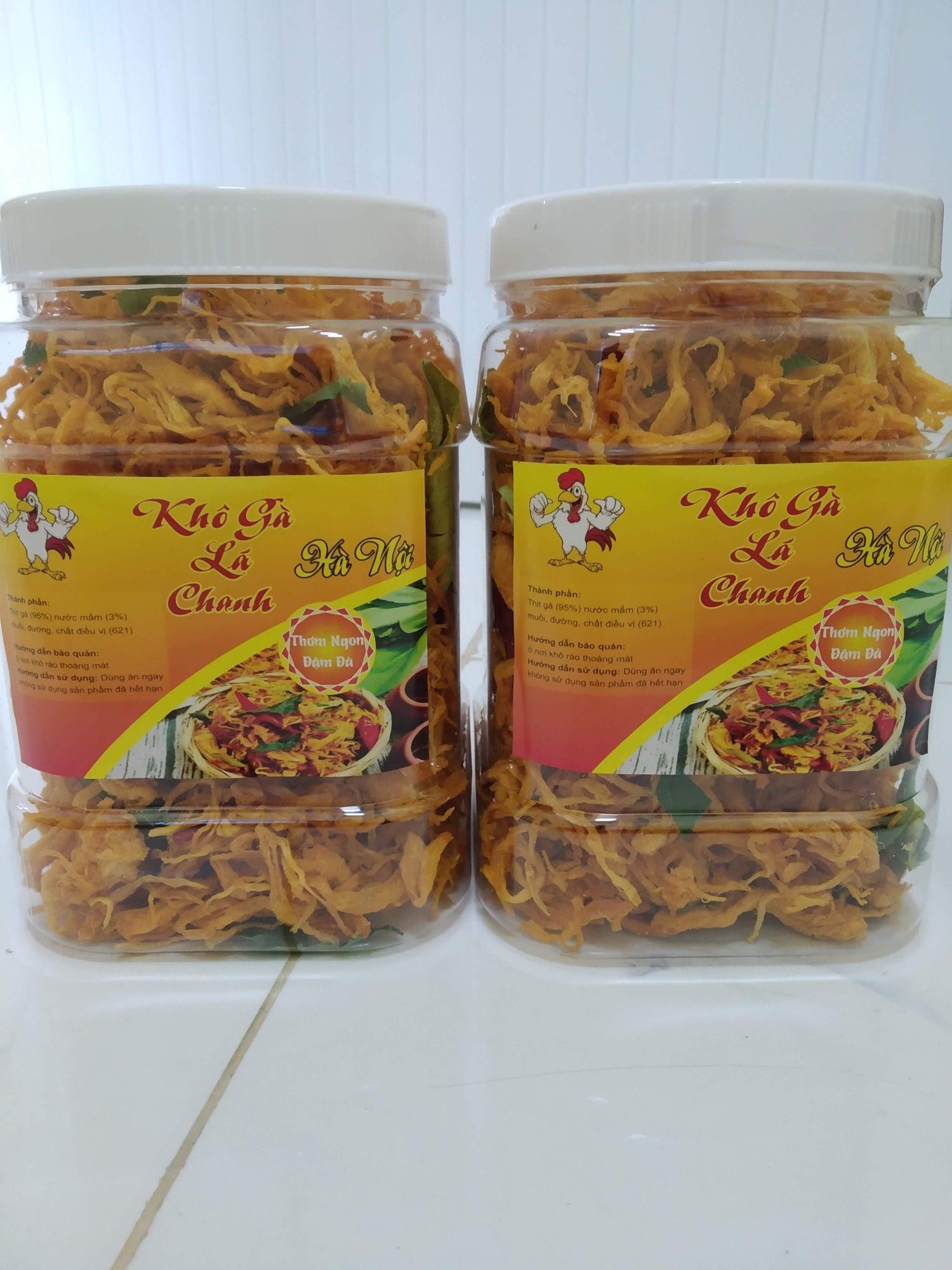 [HCM]1kg Khô gà lá chanh nguyên liệu tự nhiên hương vị thơm ngon hấp dẫn đảm bảo vệ sinh an toàn thực phẩ