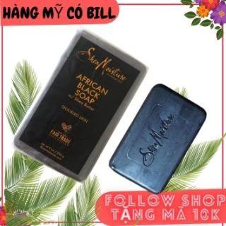 (có bill nhập)Xà Phòng Đen Giảm Mụn Lưng SHEA MOISTURE AFRICAN BLACK SOAP 230g thumbnail