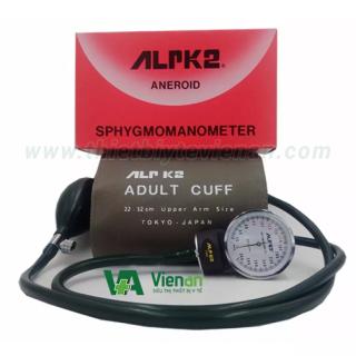Bộ máy đo huyết áp cơ ALPK 2 + tai nghe ALPK - NK&SX tại Nhật - BH 12 tháng 1 đổi 1 thumbnail