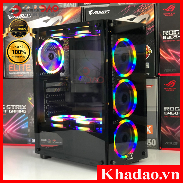 Vỏ Case Máy Tính Xigmatek HERO,Case Xigmatek Hero shop Kha Đào Computer