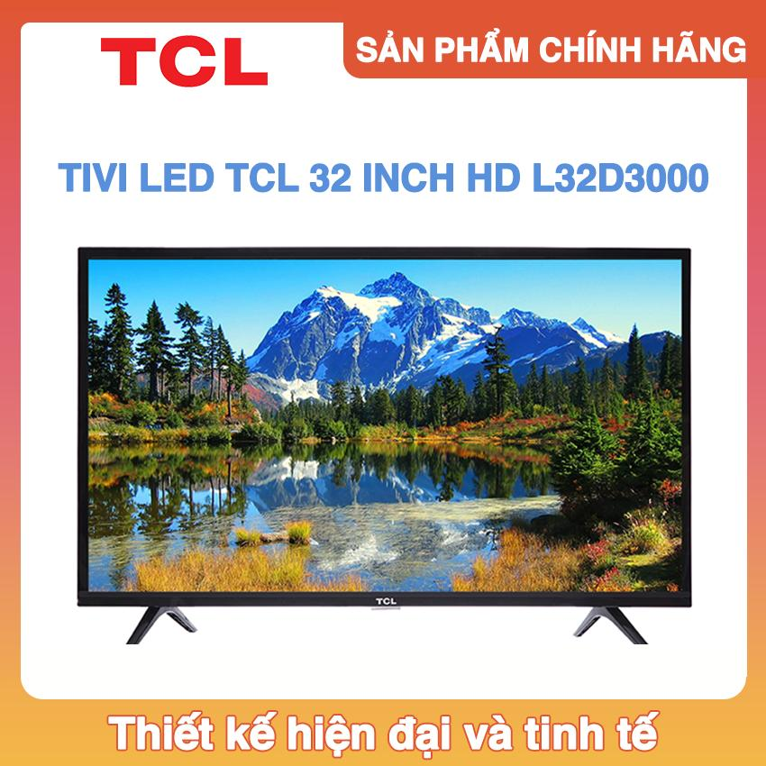 Tivi TCL 32 inch HD - Model L32D3000 (Đen)