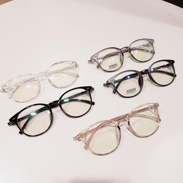 Giá bán Gọng kính cận tròn nam nữ TeeMee- gọng kính đẹp nhựa dẻo nhiều màu