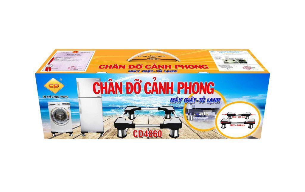 CHÂN ĐỠ MÁY GIẶT TỦ LẠNH CẢNH PHONG CD4860