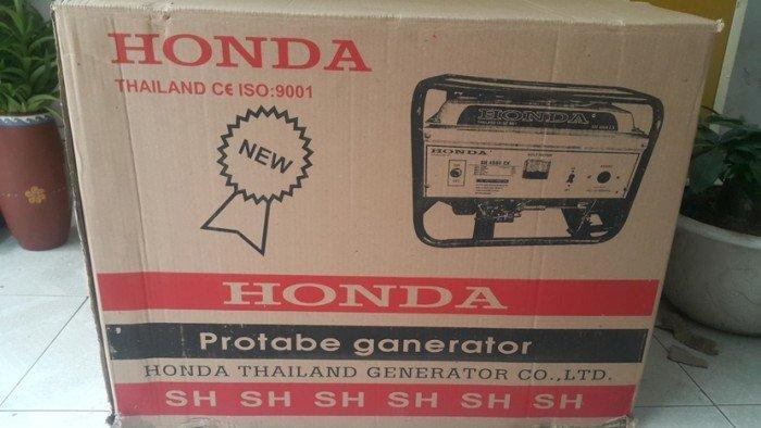 Máy phát điện Honda Thái lan SH3500EX- đề nổ, le gió tự động