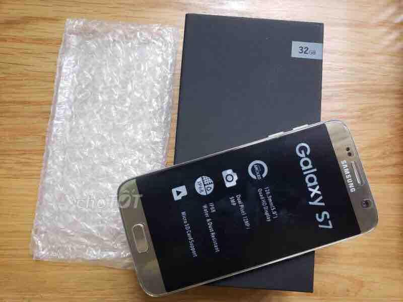 Samsung Galaxy S7 Đen Mới - Chính Hãng _ Fullboxsa