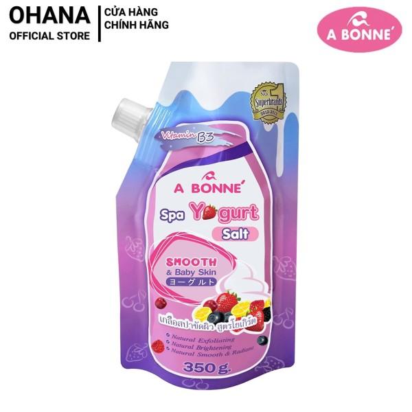 Muối Tắm Trắng và Tẩy Tế Bào Chết A Bonne Spa Yogurt Salt 350g