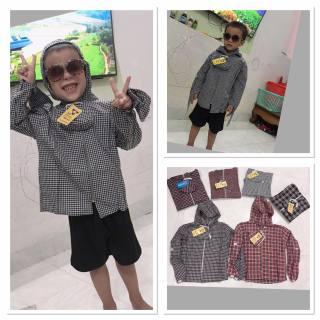 áo chống nắng cho bé trai 10-30kg ( 1 áo) thumbnail