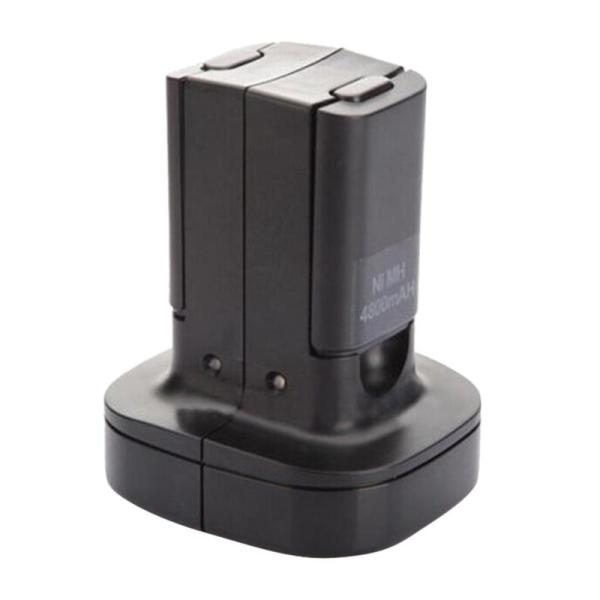 Giá Dual Charger Dock Station With 2Pcs 4800Mah Rechargeable Battery Led Charging Light For Xbox 360 Controller Us Plug