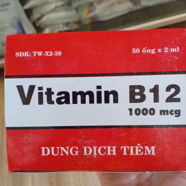 vitamin b12 - 20 ống *2ml