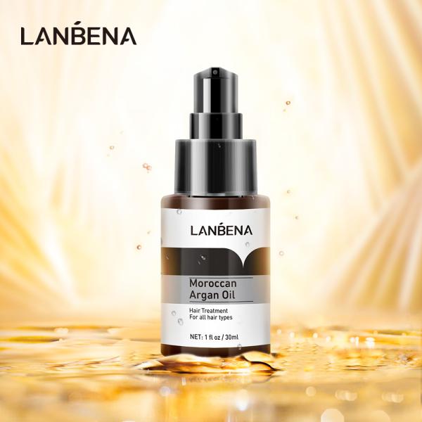 TInh dầu LANBENA Moroccan Argan nuôi dưỡng và kích thích mọc tóc 30ml - INTL giá rẻ