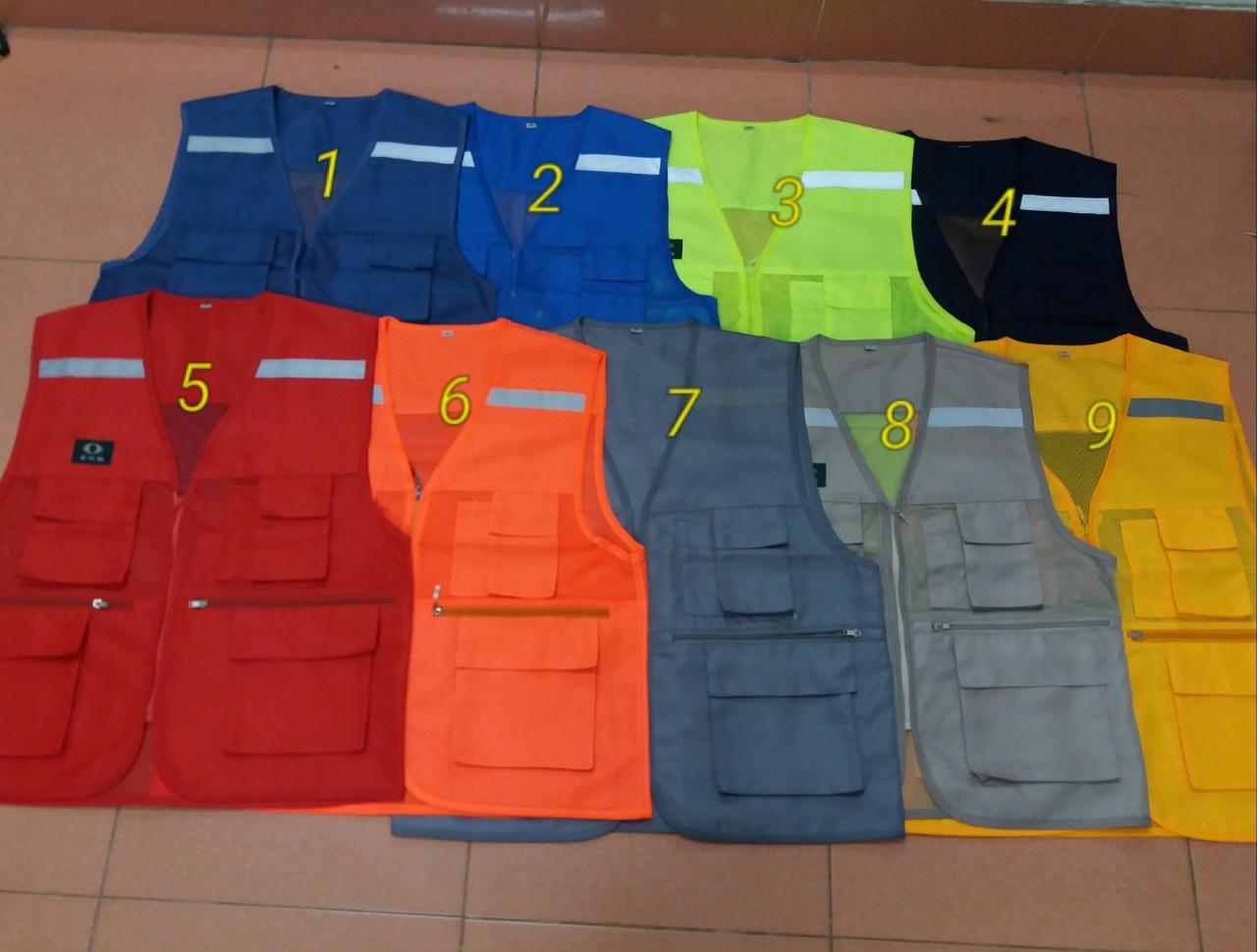 áo ghi lê phản quang xuất khẩu Hàn