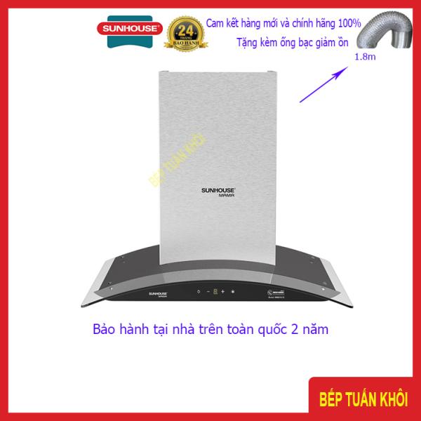 Máy hút mùi kính cong cảm ứng Sunhouse Mama MMB6682-70cm
