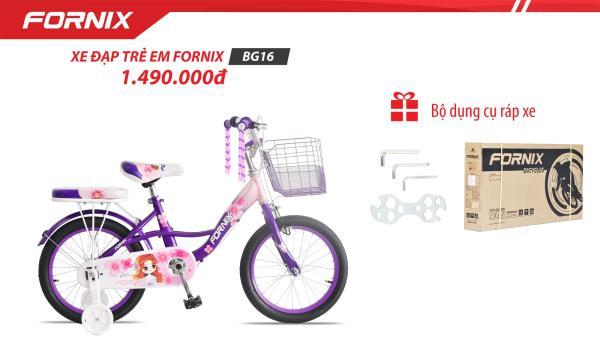 Phân phối Xe đạp trẻ em Fornix BG16 (Kèm bộ lắp ráp)- Bảo hành 12 tháng