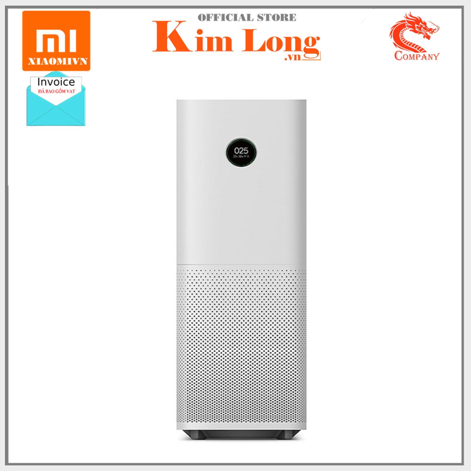 Máy lọc không khí Xiaomi Mi Air Purifier Pro công nghệ CADR 500m3/h - Hàng Digiworld