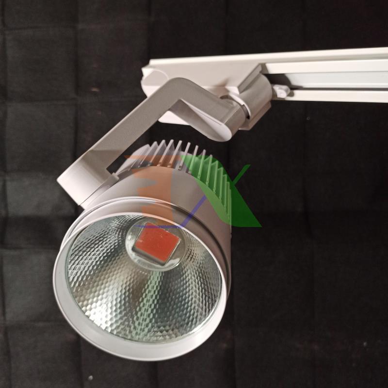 Đèn Led trồng cây lắp ray RCOB-30W, Đèn trồng cây trong nhà đủ phổ, Led grow light Full spectrum, Đèn chuyên dụng cho tường cây, vườn đứng