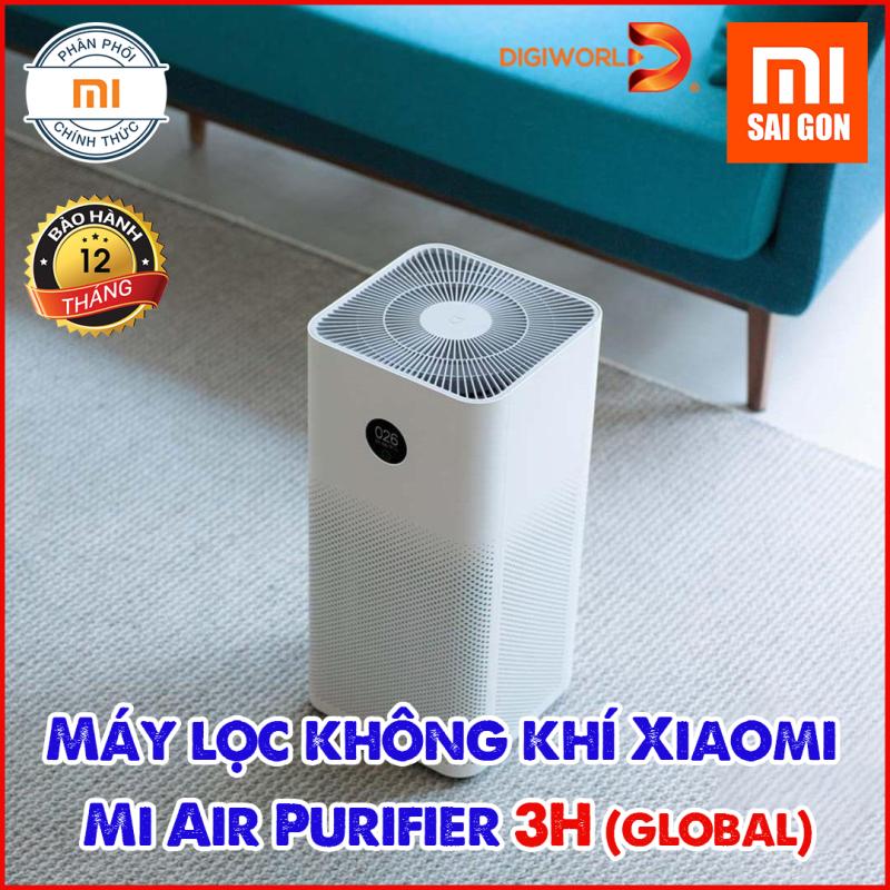 [BẢN QUỐC TẾ] Máy lọc không khí Xiaomi Mi Air Purifier 3H  - Chính hãng phân phối [BH 12 Tháng-DIGIWORLD]