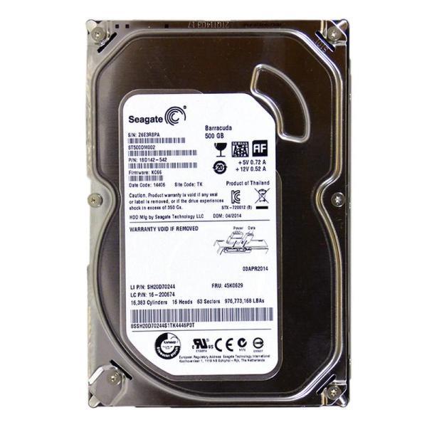 Giá Ổ cứng HDD 500Gb Sata Seagate