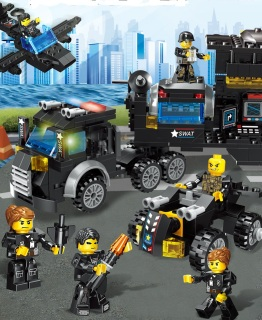 Đồ-chơi-lắp-ráp,-Lego-Giá-Re,-Lego-robot,-đoàn-tàu,máy bay- biệt đội police-662-chi-tiết-minhhanh588 thumbnail