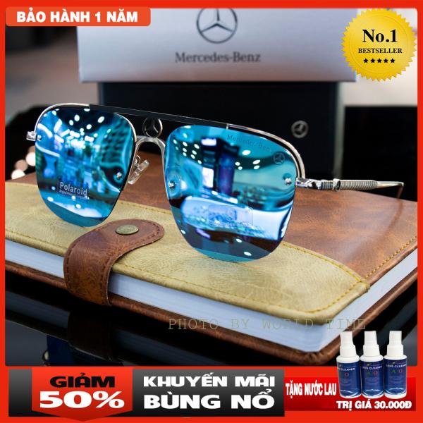 Mua Kính mát nam Benz-B002 thời trang cao cấp ,full box, tròng Polazied, chống lóa , chống tia UV cực tốt