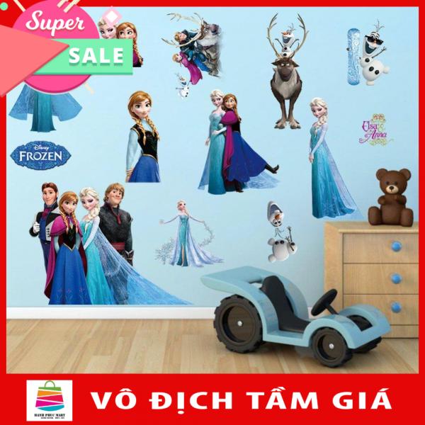 Decal dán tường nhân vật hoạt hình ELSA HPM1431-kiddecals
