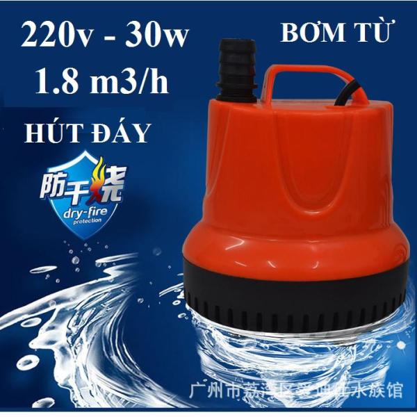 Bơm chìm hút đáy 220v-30w-1.8m3h