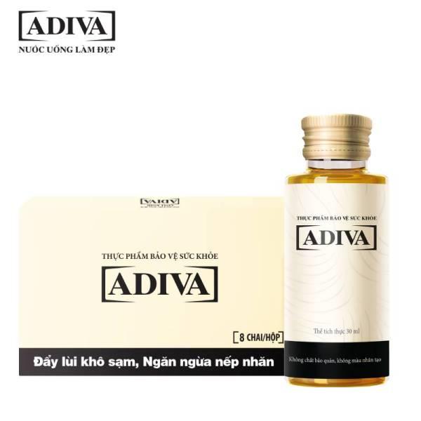 Collagen Adiva (Hộp 14 chai x 30ml) - Tự tin cho làn da tươi trẻ