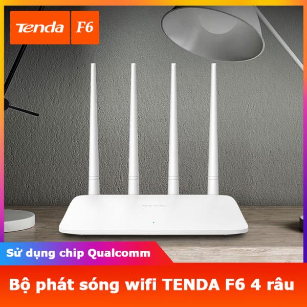 Bảng giá Bộ phát sóng wifi tenda F6 4 râu Router 4 X 5dBi Anten Phong Vũ