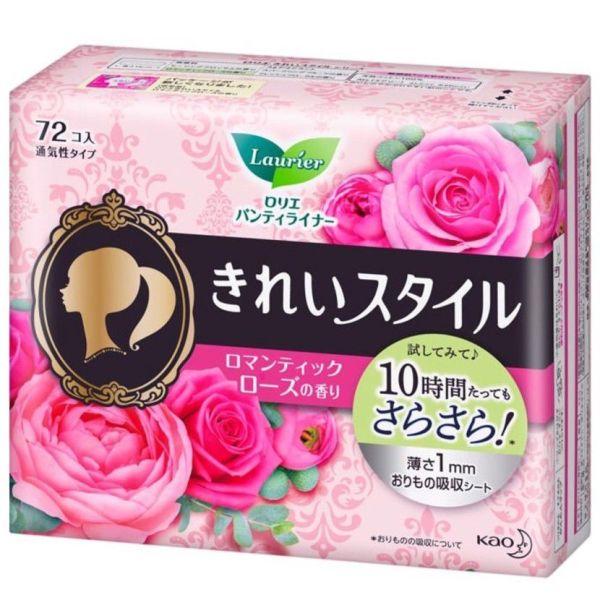 Băng vệ sinh hằng ngày Laurier 72 miếng hàng nhật từ Nhật (đủ màu) giá rẻ