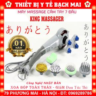 Máy Massage Cầm Tay 7 Đầu KING MASSAGER thumbnail