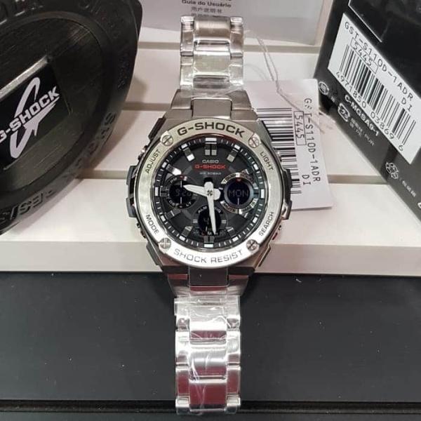Nơi bán Đồng hồ Nam kim loại bạc GSTS110D