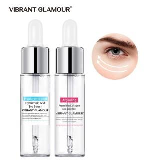 Bộ Serum Dưỡng Mắt VIBRANT GLAMOR Hyaluronic Acid Collagen Chống Nhăn Xóa Quầng Thâm Dưỡng Ẩm Vùng Mắt 15ml + 15ml - INTL thumbnail