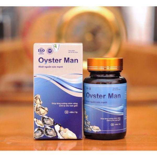 Tinh Chất Hàu Oyster Man - Giúp Tăng Cường Sinh Lực, Cải Thiện Cương Dương, Yếu Sinh Lý