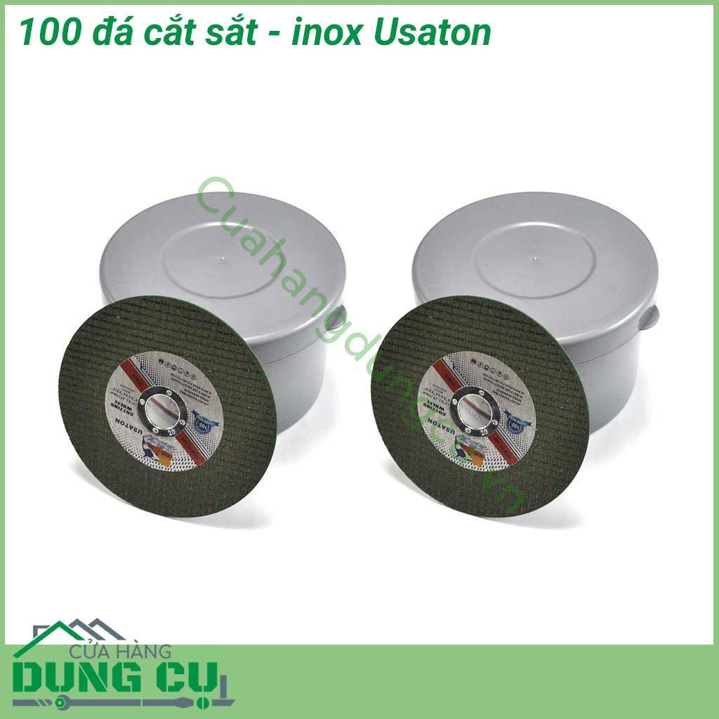 100 viên đá cắt sắt, cắt inox