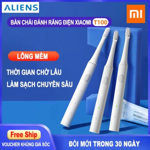 Bảng giá Xiaomi Bàn chải đánh răng điện T100 lông mềm  Chống nước  Bàn chải đánh răng điện sạc pin Điện máy Pico