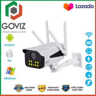 (Combo Camera Thẻ nhớ Yoosee chính hãng BH 60 Tháng ) Camera wifi - Camera Yoosee Goviz 4 Râu 9 Led Phiên Bản Mới 2020 chuẩn 4.0 dùng ngoài trời - trong nhà mpx full hd 1080p - hỗ trợ 4 đèn hồng ngoại và 4 đèn led thumbnail