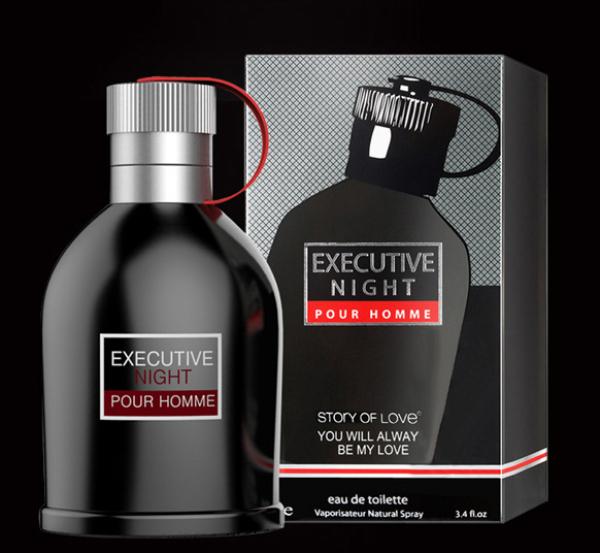 Nước hoa nam cao cấp EXCUTIVE NIGHT dung tích 100 ml hương thơm nam tính bền lâu [MYGOOD] nhập khẩu