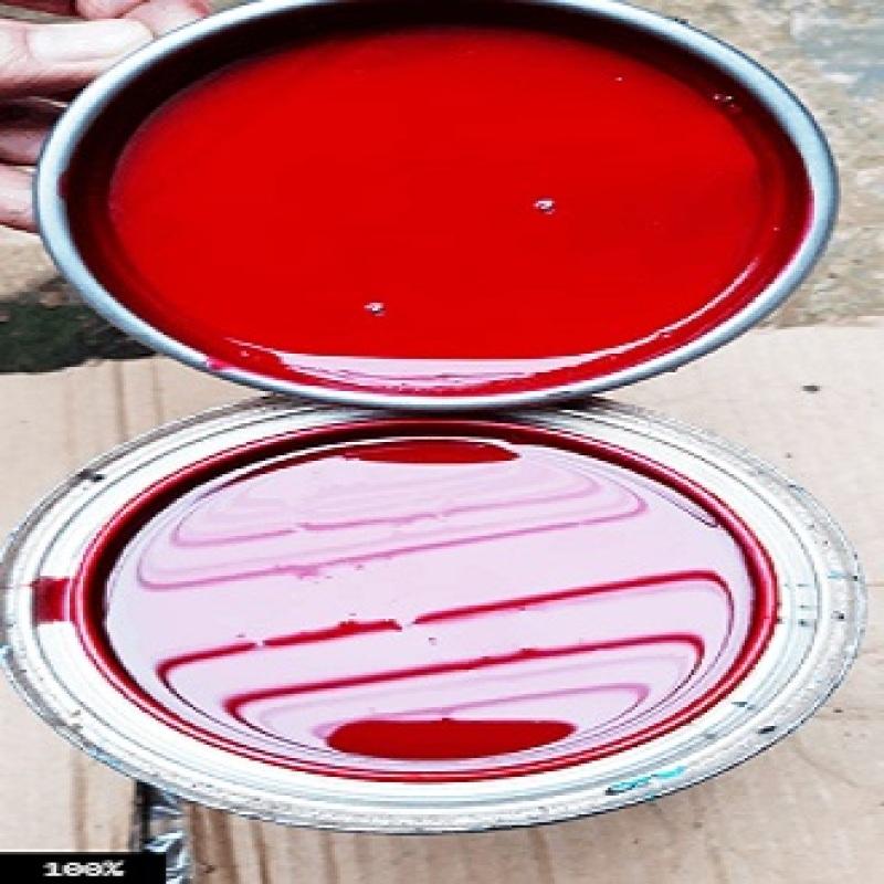 1 lạng màu đỏ cho xe Aiblade dùng sơn dặm, sơn nguyên xe