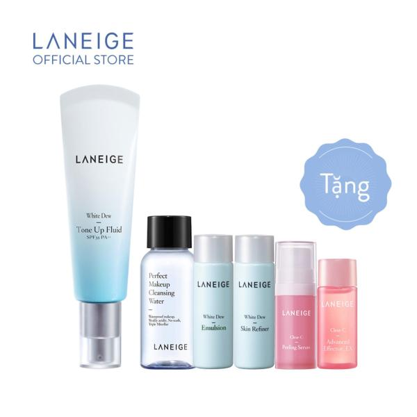 Sữa dưỡng nâng tông da và chống nắng Laneige White Dew Tone-Up Fluid Cream 50ml tốt nhất