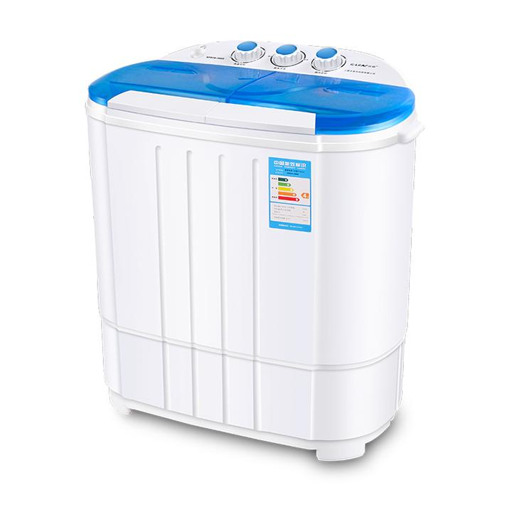 Máy giặt mini 2 lồng giặt kiêm chế độ vắt nhanh cho bé - 3