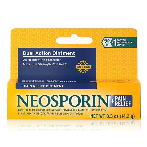 Kem làm lành vết thương và mờ sẹo Neosporin Infection 14.2g
