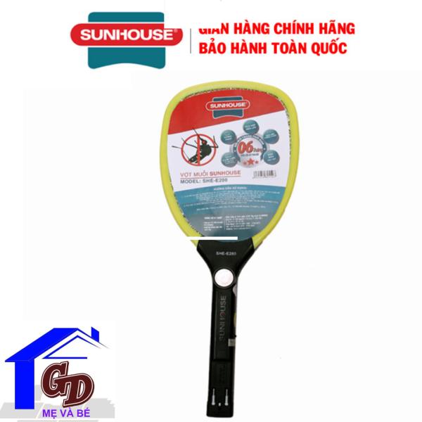Vợt Bắt Muỗi Thông Minh Sunhouse SHE-E280 Chống Giật An Toàn Hàng Chính Hãng Bảo Hành 12 Tháng