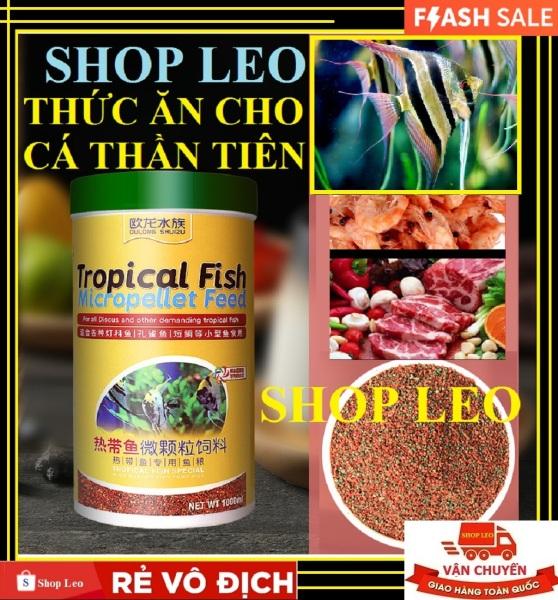 (SIÊU RẺ) Thức ăn cá thần tiên HỘP 500ML - thức ăn chuyên cho cá thần tiên - cá ông tiên siêu rẻ