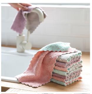 Combo 3 khăn lau tay.lau bát đĩa vải sợi đa năng GDA102 thumbnail