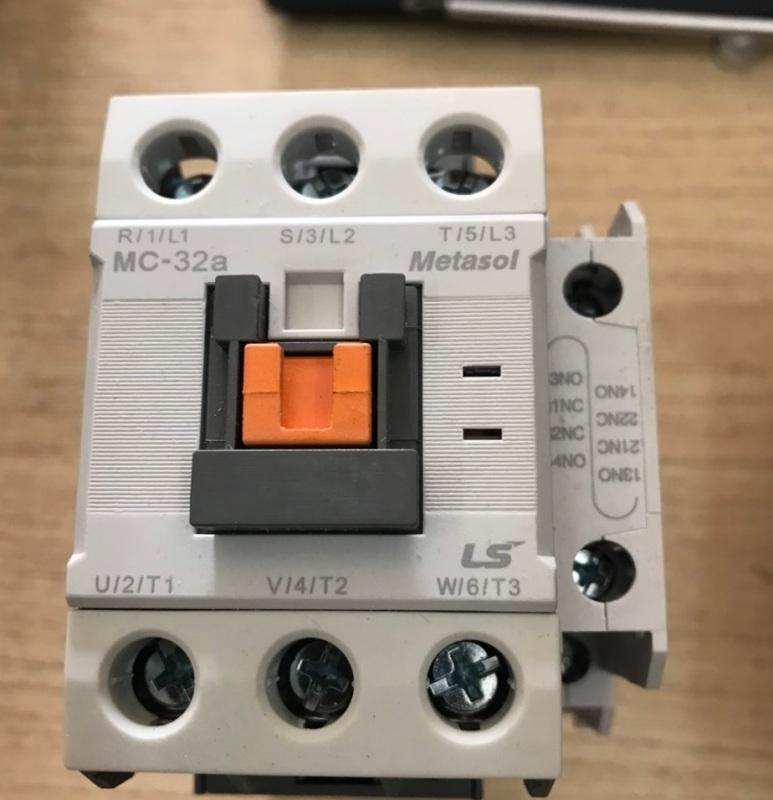 Khởi động từ - contactor LS MC32 - 32A 220v
