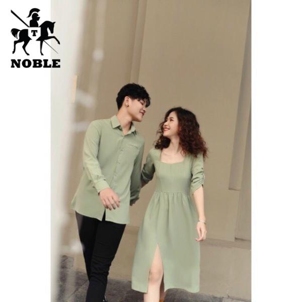 Set đồ đồ nam nữ couple cổ điển thời trang Noble cao cấp NB32 (Kèm ảnh thật)