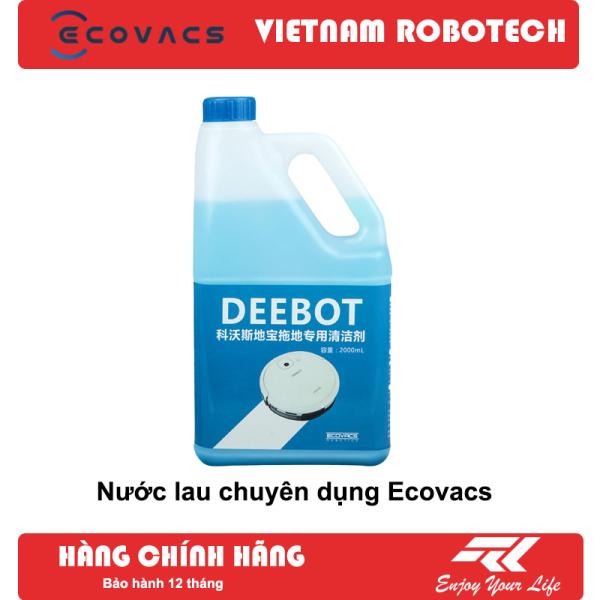 [3 Ngày Giá Gốc] Nước lau sàn chuyên dụng cho Robot - VIETNAMROBOTECH Số 1 về hậu mãi, Chăm sóc khách hàng