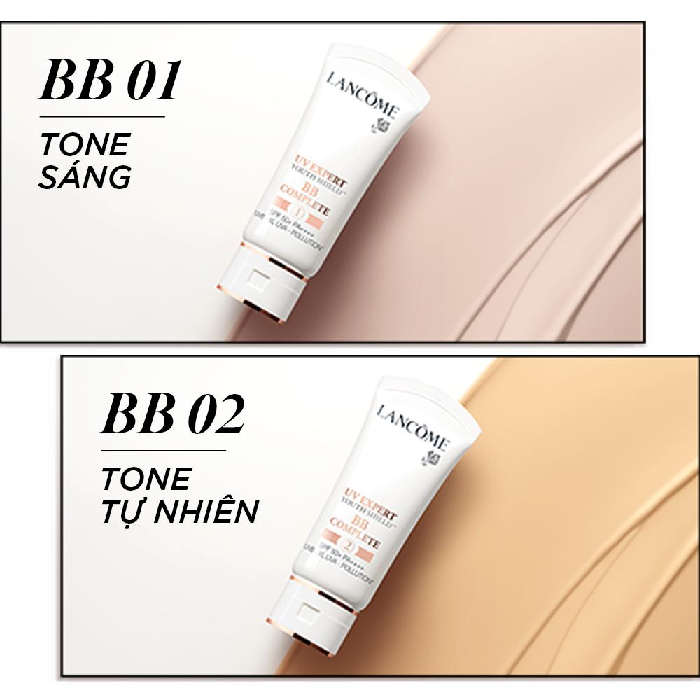 Kem chống nắng có màu che phủ hoàn hảo Lancome UV Expert BB COMPLETE 1 SPF 50+ PA++++ 30ml - Tone màu sáng