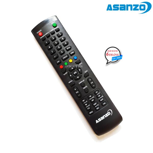 Bảng giá Remote điều khiển tv Asanzo mẫu 3