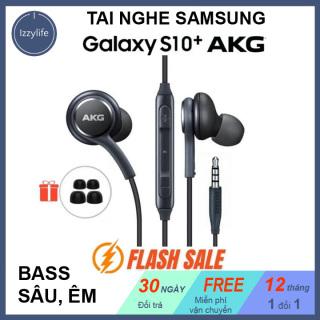 [BASS XỊN] Tai nghe Samsung Galaxy S10, tai nghe có dây bass trầm, trong, nghe rất thích, phù hợp với dân sành nhạc shop Izzylife thumbnail